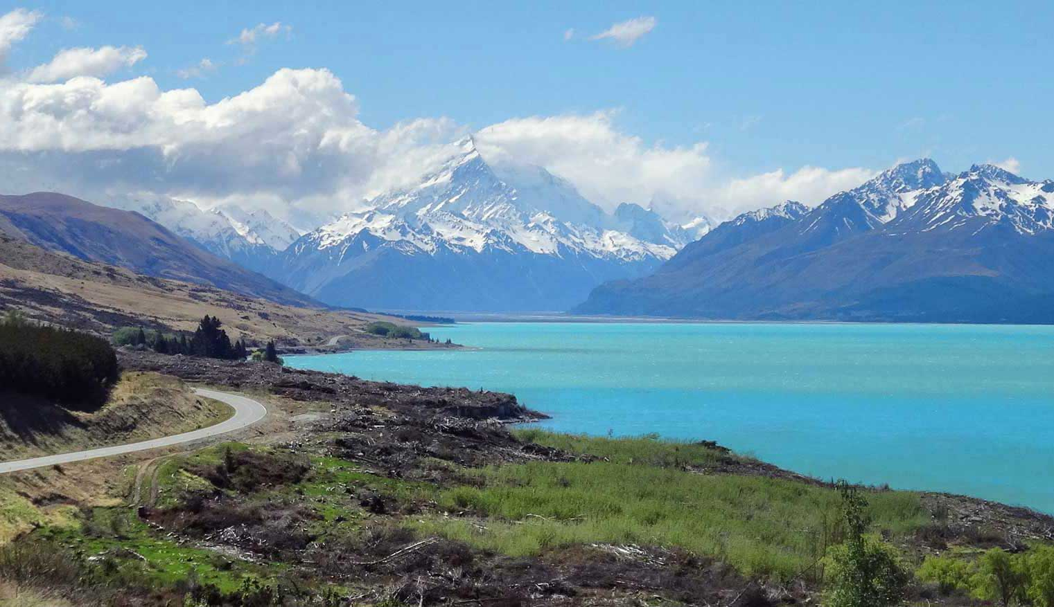Drive to Mount Cook